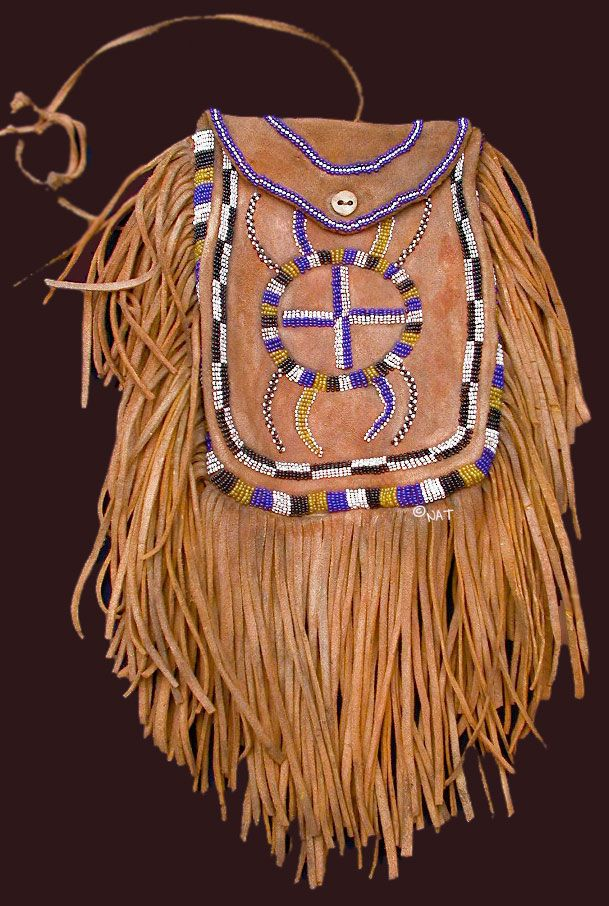 Apache medicine bag native americans pinterest for Vetements artisanat indien