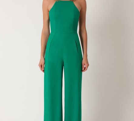 41b16f9617 Women s Green Joaquin Crepe Jumpsuit