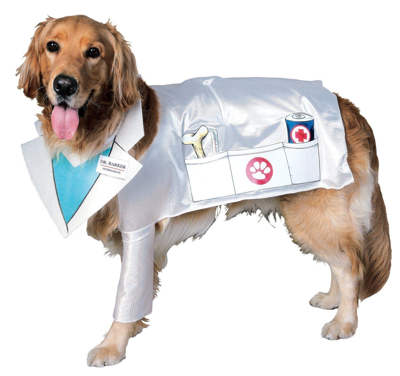 Doctor Dog Costume Halloween Pet Doge