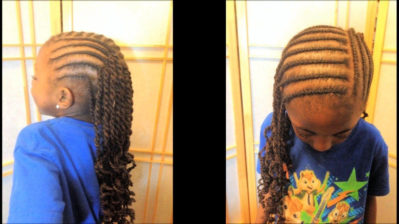 Cornrows And Marley Rope Twists