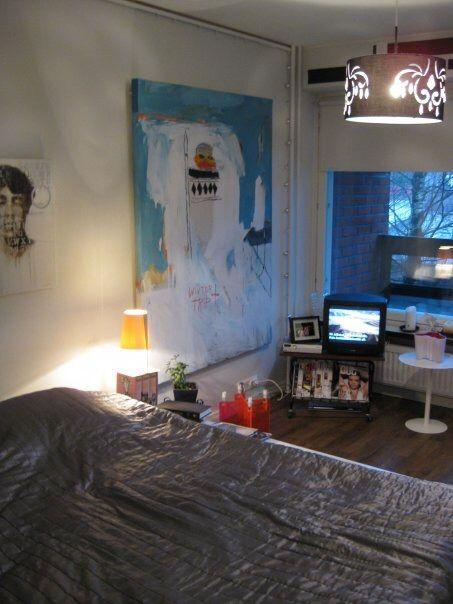 Etelä-Haagan yksiö, huone