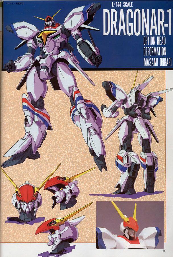 metal armor dragonar obari design barigonar サンライズ アニメ アニメ スーパーロボット大戦