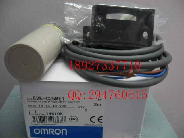 130.30$  Buy here - http://alie74.worldwells.pw/go.php?t=32503981849 - [ZOB] 100% new original OMRON Omron proximity switch E2K-C25ME1 2M factory outlets