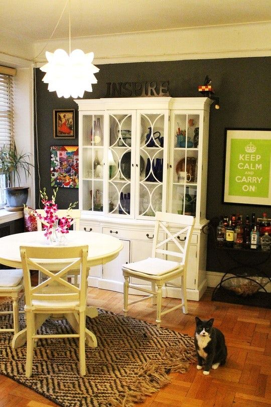 Emily's Lovely L-Shaped Apartment | Small apartment ...