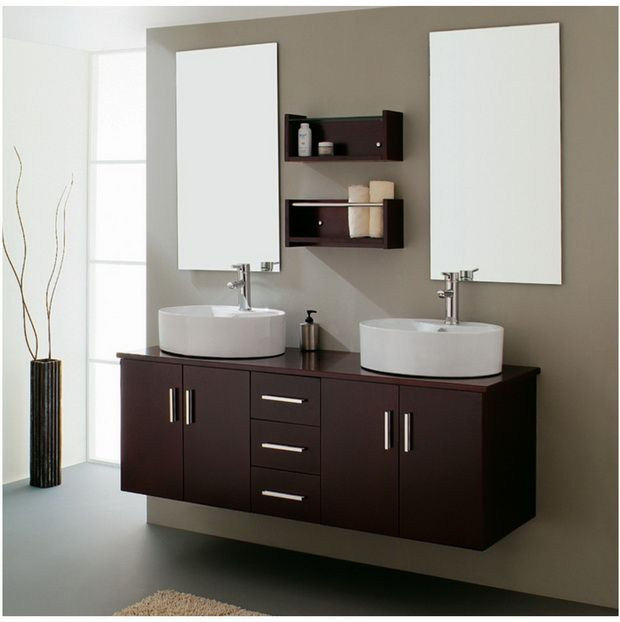 10 feng shui pravil za ureduvanje na domot double sink bathroomvanity - Bathroom Cabinets Za