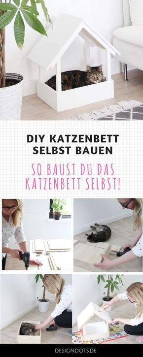 diy stillvolles katzenbett selbst bauen 1 pinterest katzenm bel katzen und selber bauen. Black Bedroom Furniture Sets. Home Design Ideas