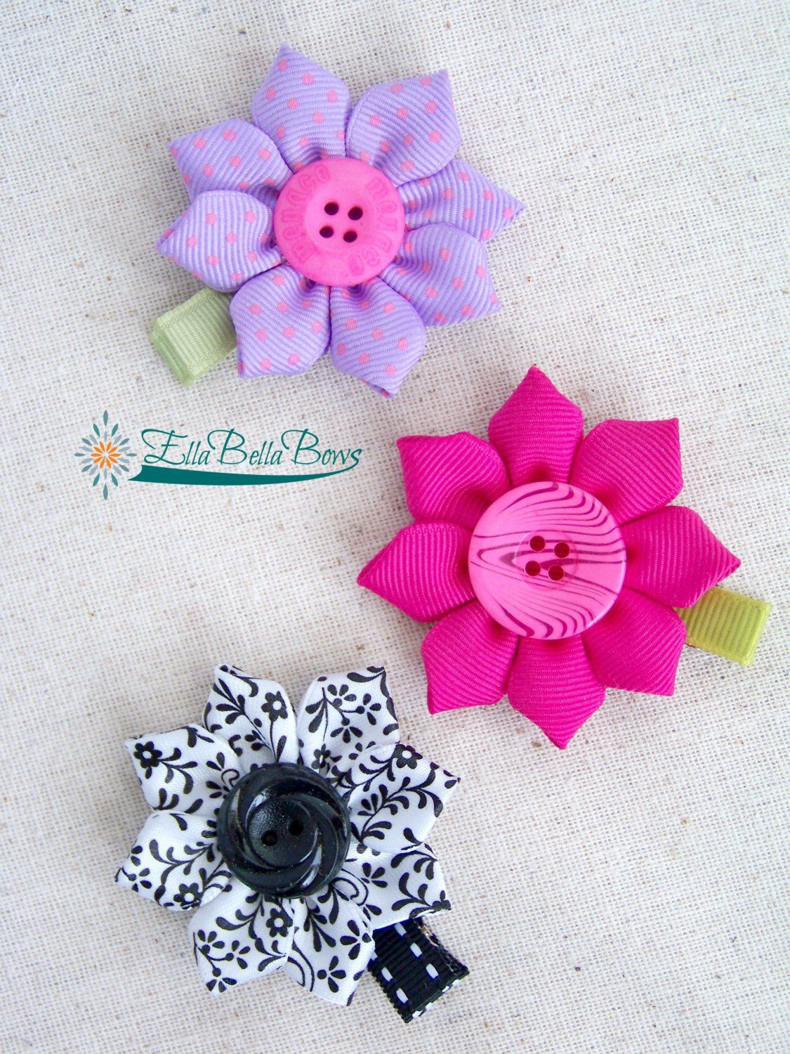 Instant Download Starflower Sunflower Ribbon Sculpture Etsy Ribbon Sculpture Bows Fabric Crafts
