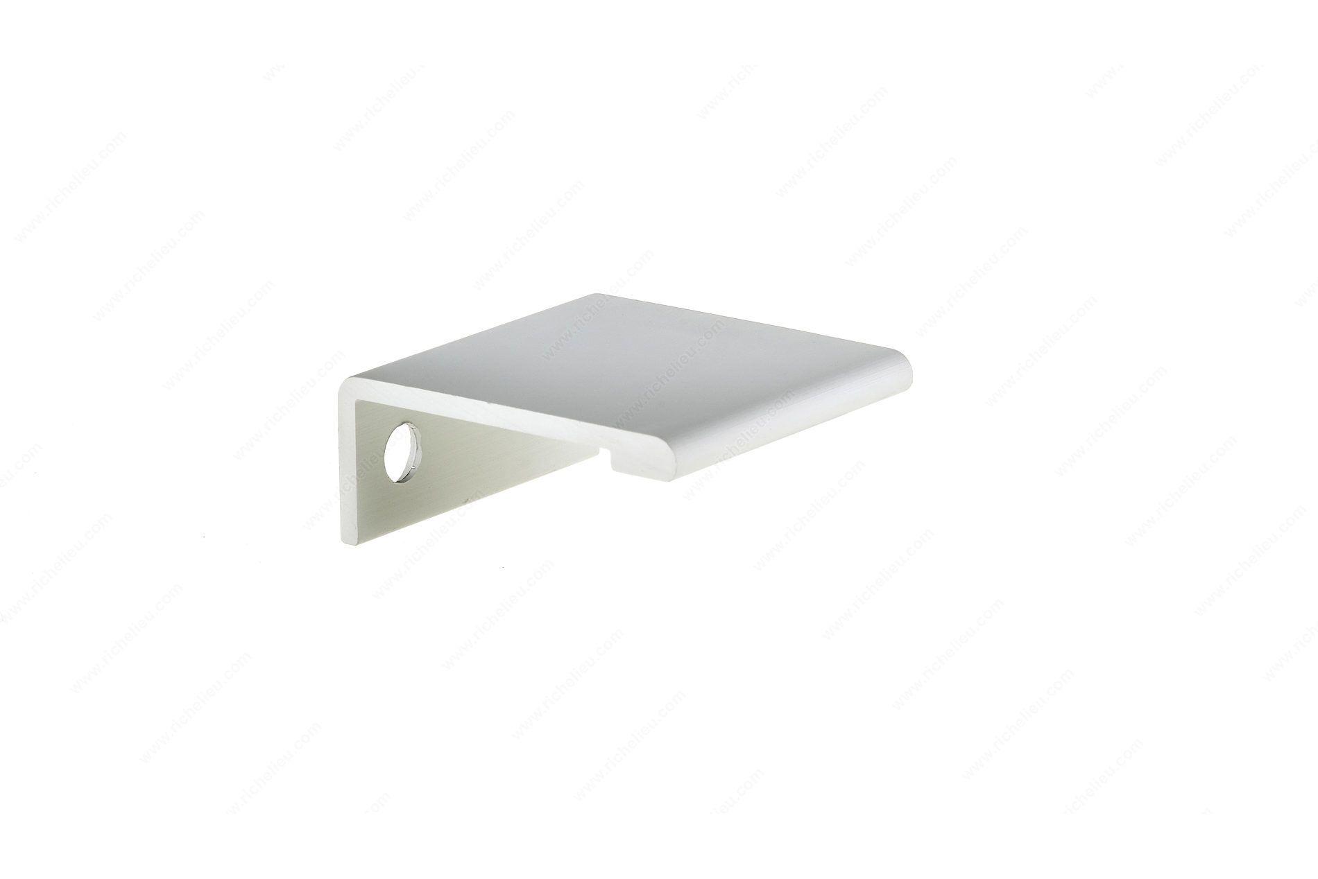 Contemporary Aluminum Edge Pull - 9898 - Richelieu ...