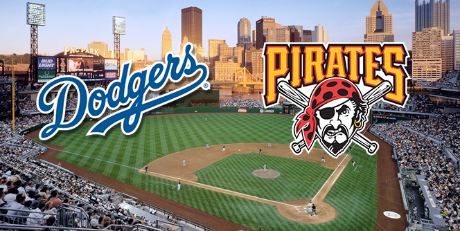 Pittsburgh Pirates (4045) vs. Los Angeles Dodgers (4639