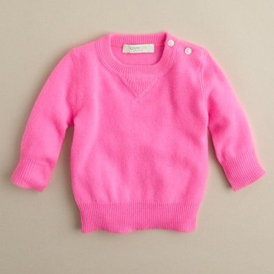 32dd02dea774 I would love to get this J. Crew Cashmere baby sweater for Camille ...