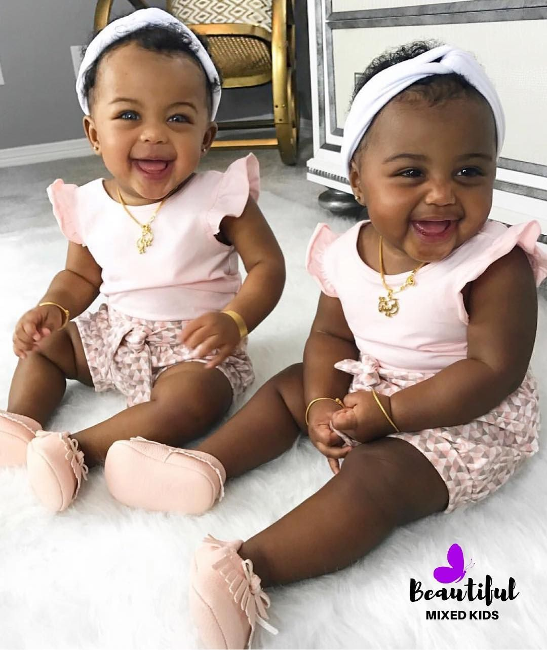Images Of Cute Black Twin Babies