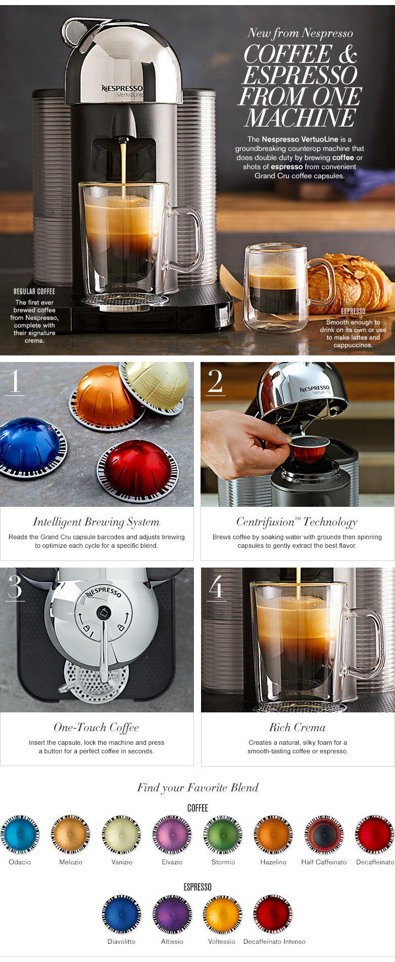 My new investment! 😀 nespresso vertuo Vertuoline