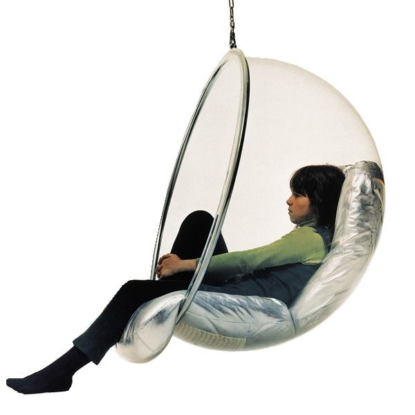 The Bubble Chair Designed By Eero Aarnio In 1968, Manufactured By Adelta In  Finland.