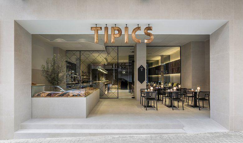 TIPICS – Restaurant & Coffe Shop - Xativa, Spain.