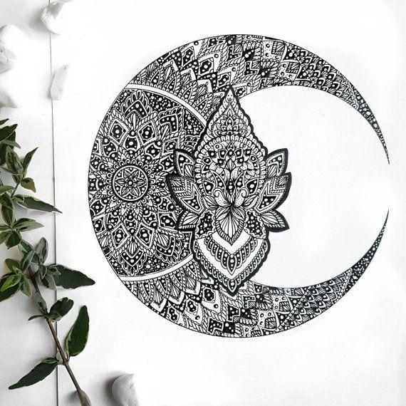 Pin By Michelle Fair On Lotus Pad Luna Mandalas Mandalas Tatuajes