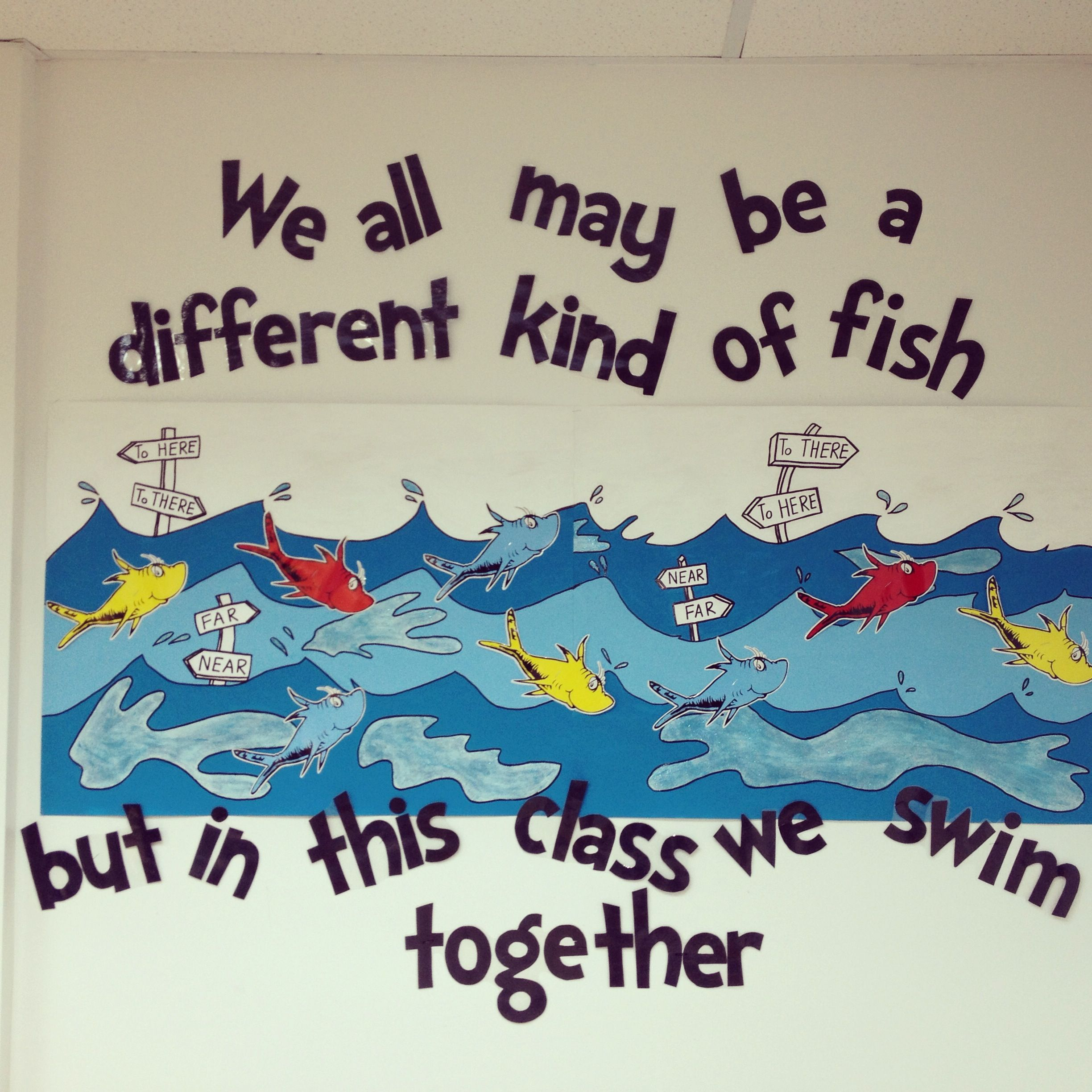 i can see myself having a fishing theme in my future classroom ...
