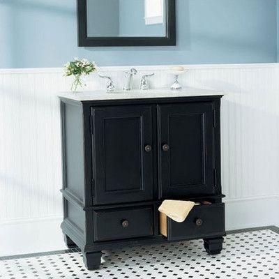 Bathroom Vanity Black 24 inch black bathroom vanity whimsical - google search | powder