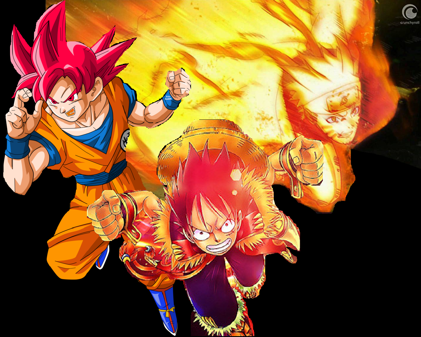 Most people wouldn't even bother with the thought because it sounds so unbelievable, but bandai namco has shocked the world. Goku Naruto And Luffy Anime Dragon Ball Super Anime Dragon Ball Naruto And Sasuke Wallpaper
