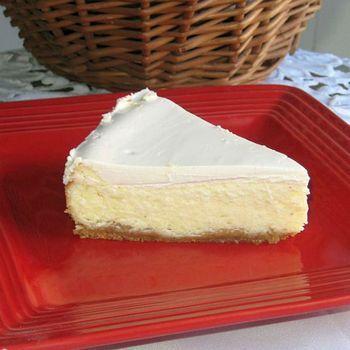 Polish Cheesecake Sernik With Cookie Crumb Crust Recipe Polish Cheesecake Recipe Cheesecake Recipes Dessert Recipes