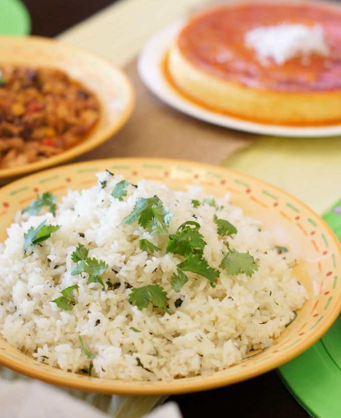 Cilantro Lime Rice Recipe   SmartLittleCookie.net