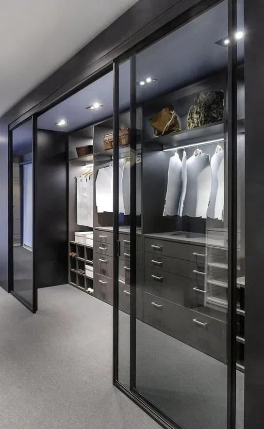 44 begehbare Kleiderschränke für luxuriöse Traumhäuser - #Begehbare #für #Kleiderschränke #luxuriöse #Traumhäuser