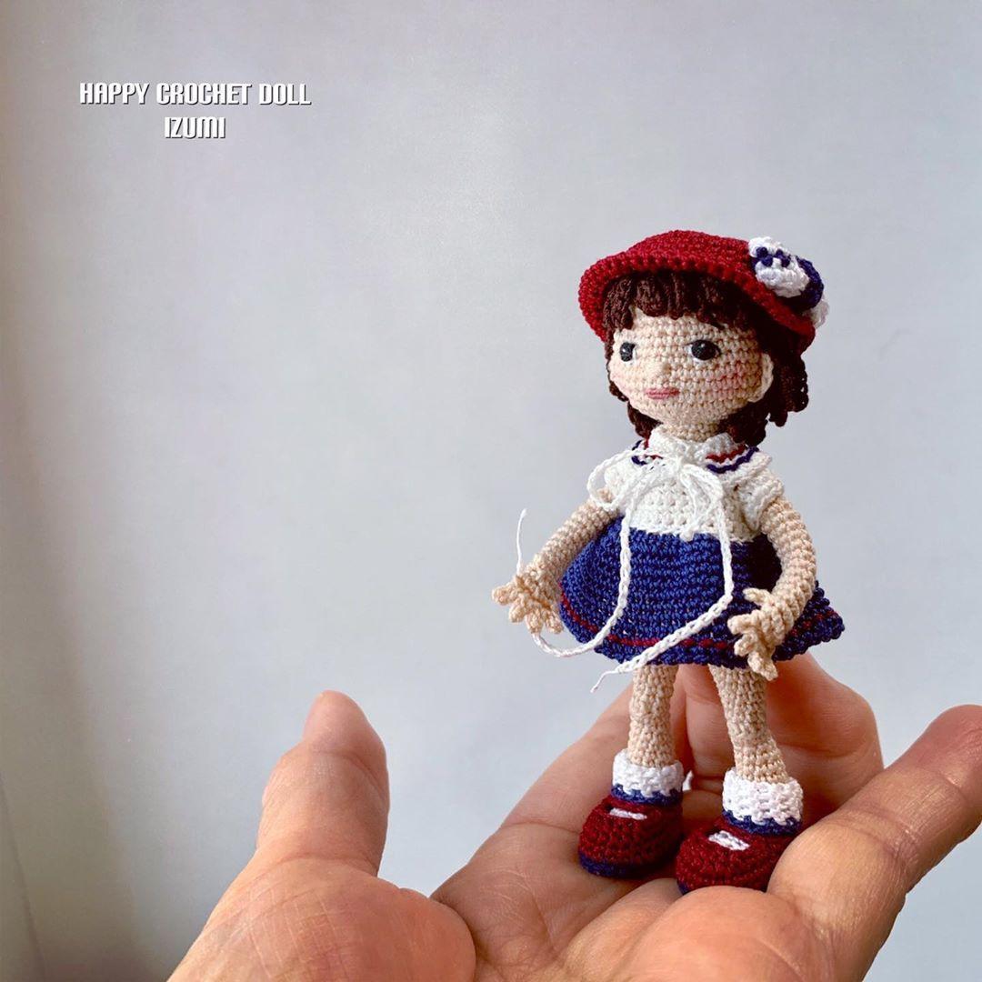 Crochet Crochetdoll Doll Amigurumi Handmade Handmadedoll あみぐるみ クロッシェドール かぎ針編み 人形 ドール かぎ針編み ドール かぎ針