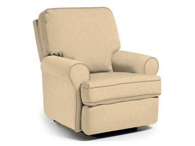 tryp swivel glider recliner by best chairs in custom fabric - Reclining Glider