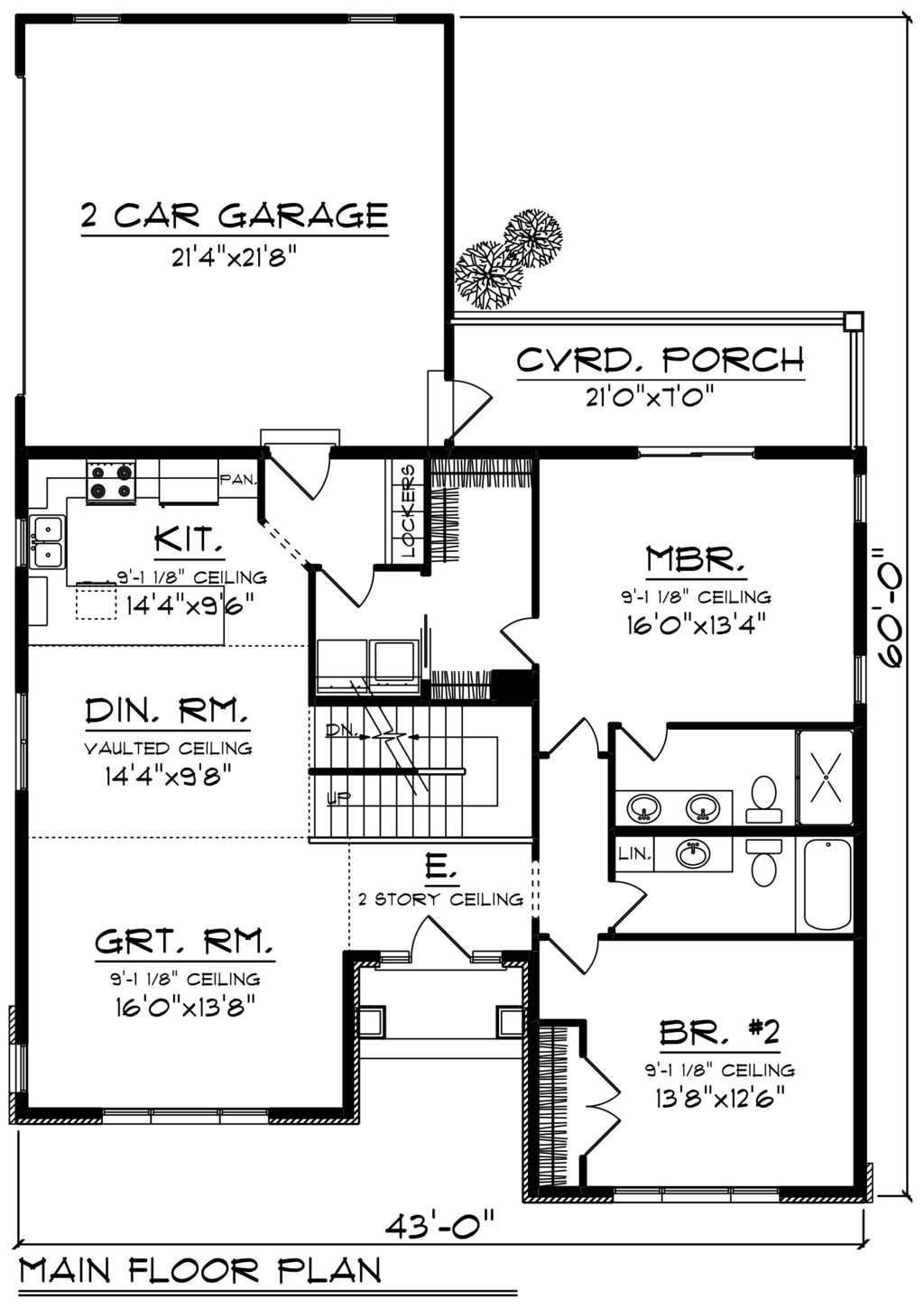 Ranch Style House Plan 2 Beds 2 Baths 1743 Sq Ft Plan 70 1242 Floor Plans Floor Plan Design House Plans