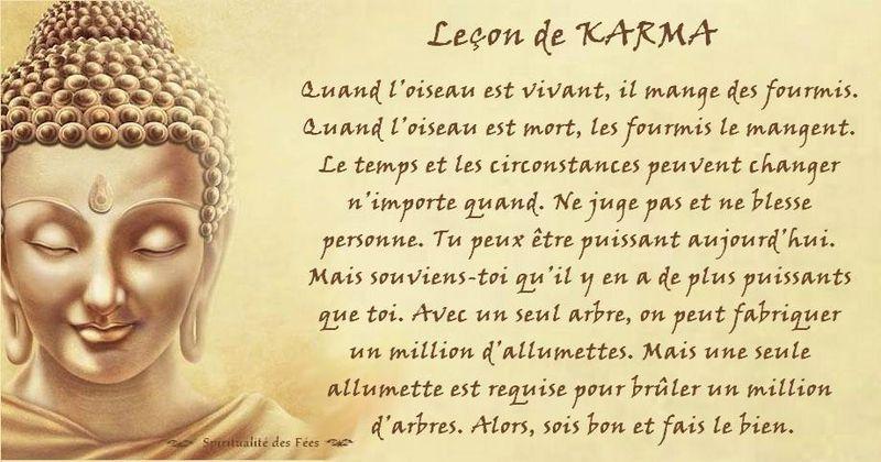 Leçon De Karma Rencontre Reiki Citations Karma Loi