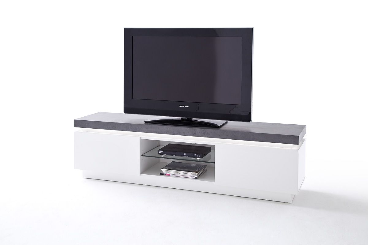 Meuble Tv Bas Et Long Tv Stand Atlanta Typ71 Meuble Tv Chene In 2019 Meuble Tv