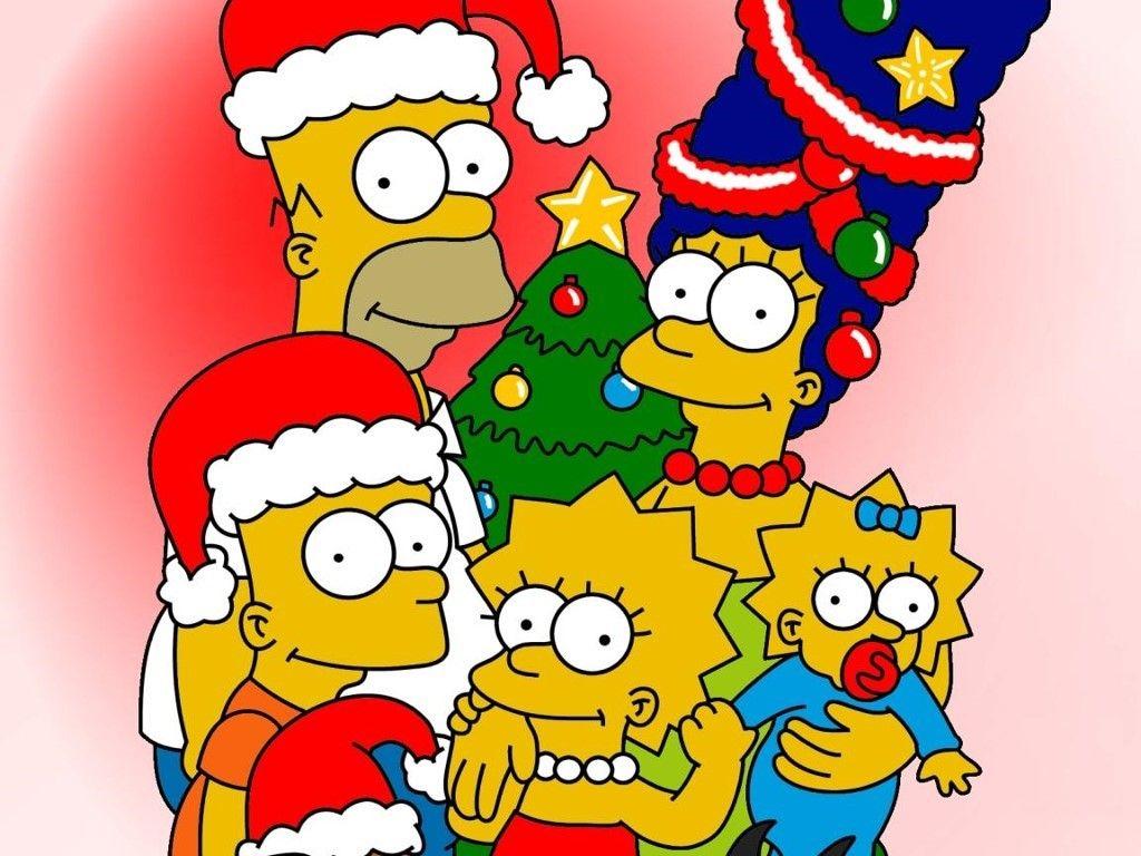 Fondos de Pantalla de Navidad - https://navidad.es/fondos-de-pantalla-de- navidad-13-11/ | Dibujos de los simpson, Personajes de los simpsons, Los  simpson
