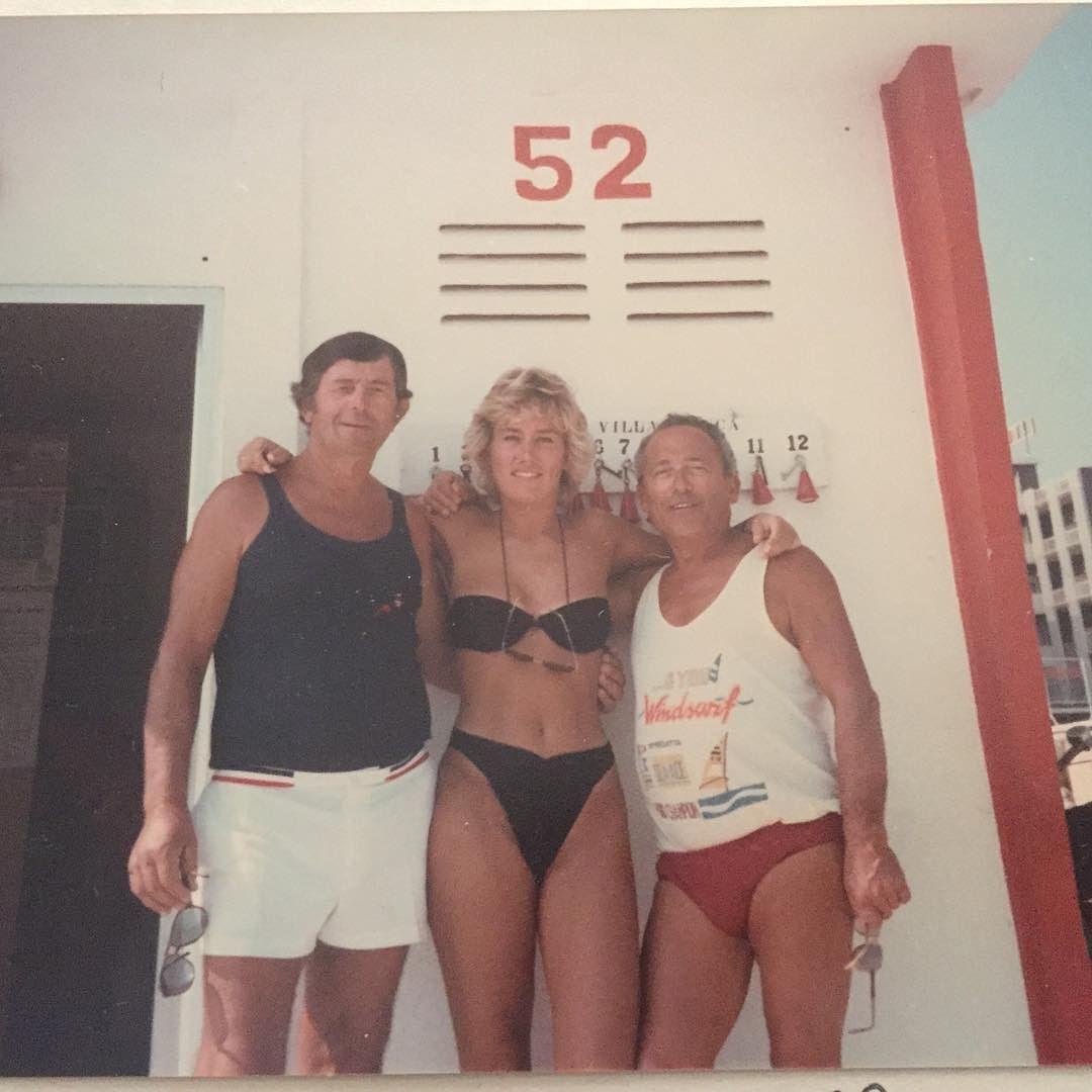 Bagno 52 Estate 1986 Rimini Italia Fra Glansdagene Som