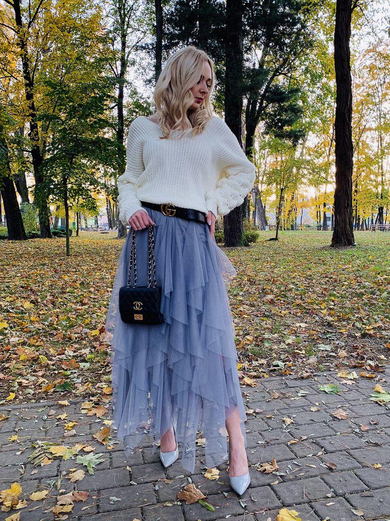 Tiulowa Spódnica | Fashion, Skirts, Tulle skirt