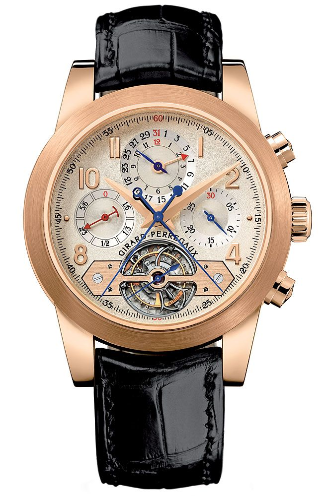Girard-Perregaux Tourbillon Chronograph with Rattrapante and Foudroyante @DestinationMars