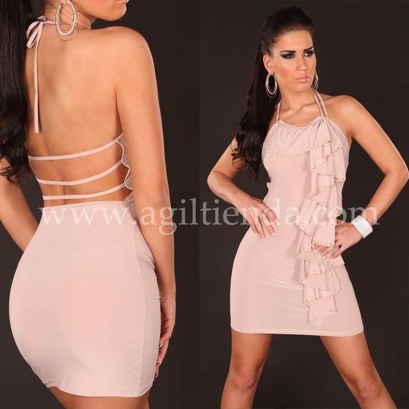 vestidos cortos al cuerpo con espalda descubierta blancos - Buscar ...