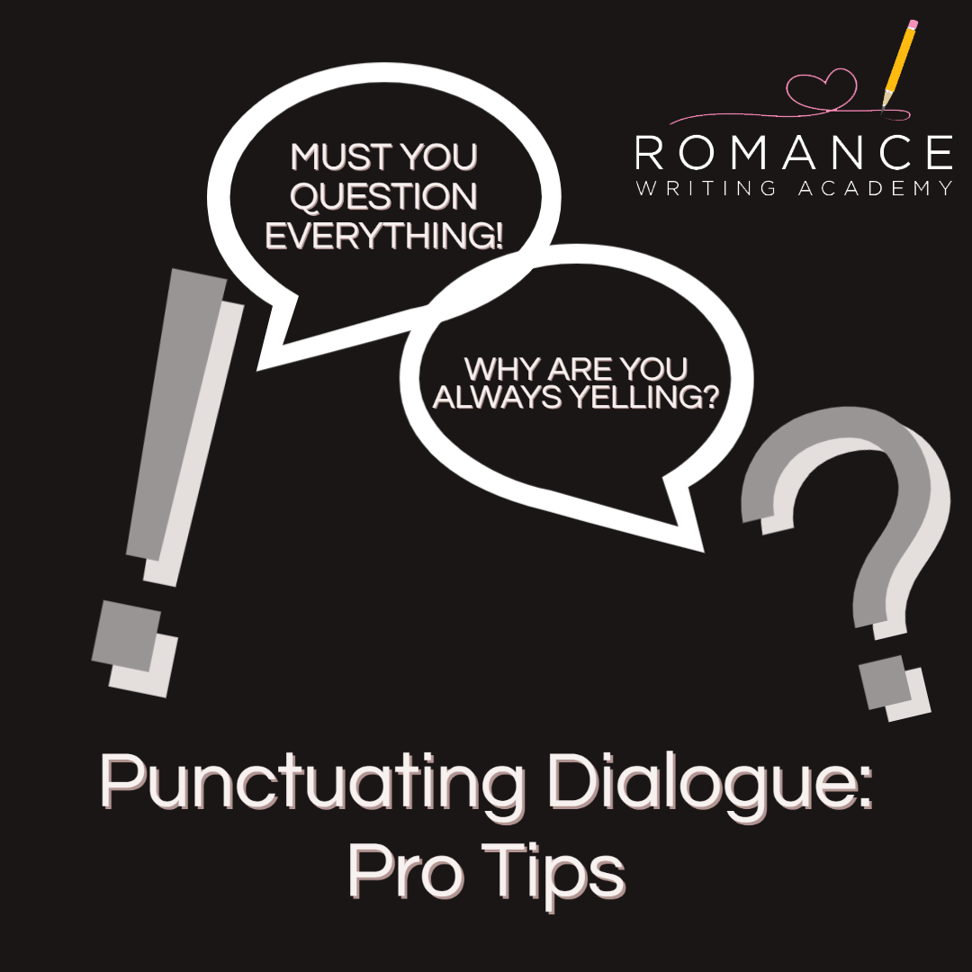 Punctuating Dialogue Pro Tips In