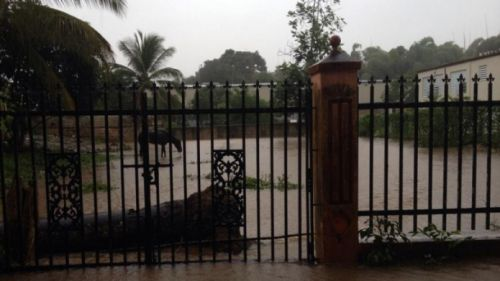 Lluvias torrenciales provocan daños a residentes sector el Gandul Bo Ceiba Sur de Juncos
