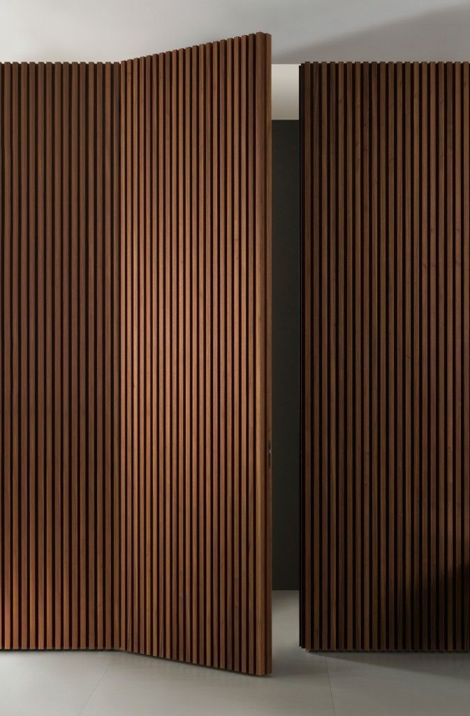 Doga. Design Gianluca Santambrogio. #woodarchitecture
