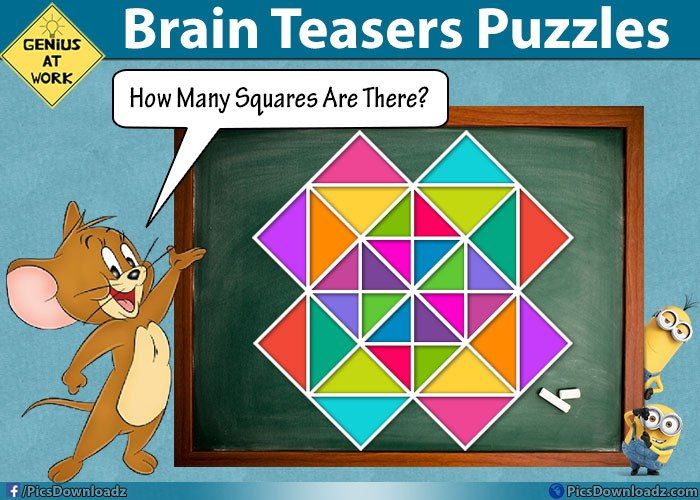It's time to find out the number of squares - Brainteasers ...