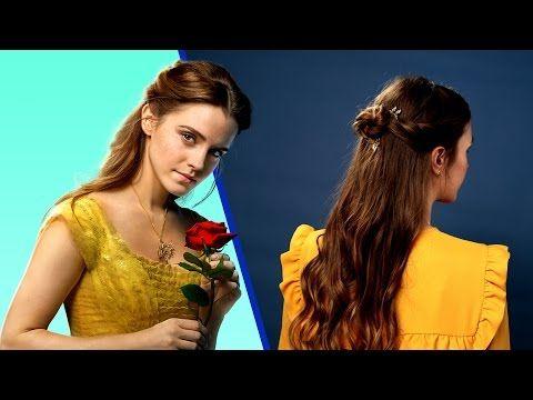 Emma Watson\'s Belle Hairstyles | Beauty & The Beast Tutorial ...