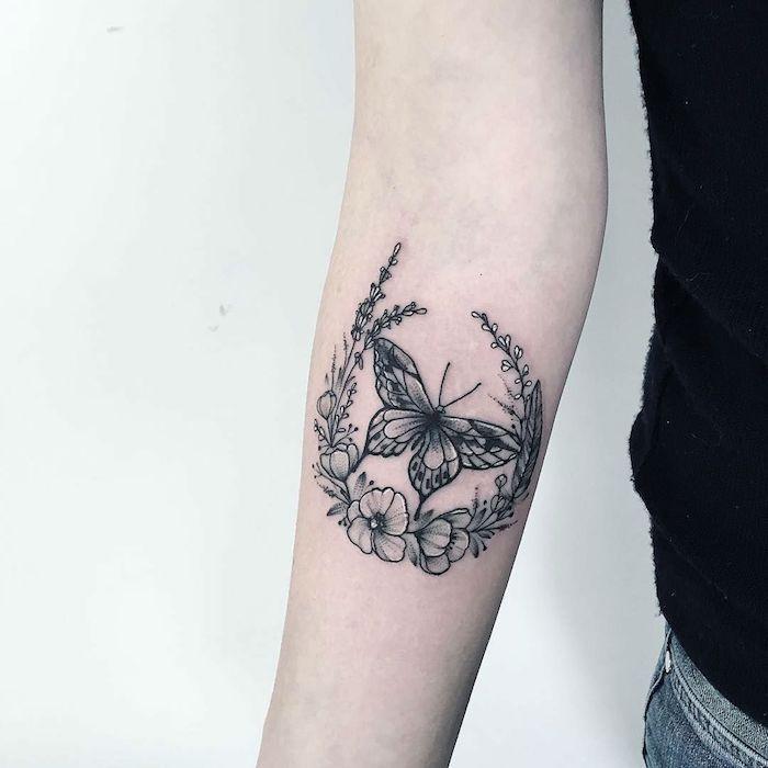 1001 Designs De Tatouage Papillon Pharamineux Tattoos