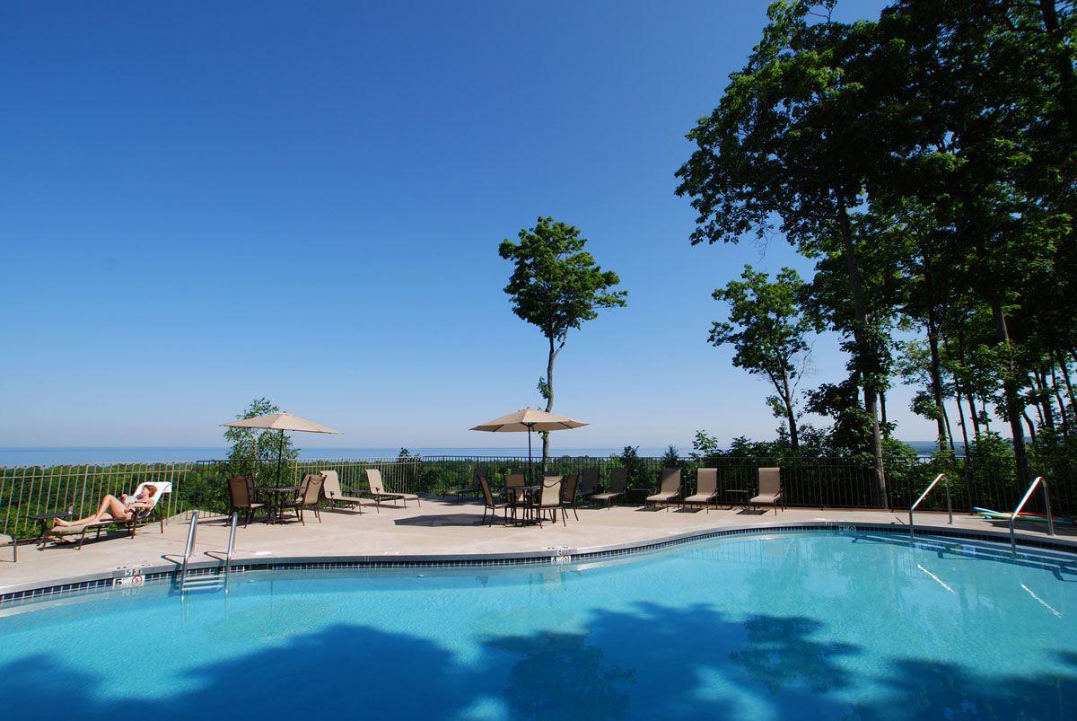 Landmark Resort Door County Wi Spent All Day At This Pool Relaxing Door County Hotels Door County Wisconsin Resort