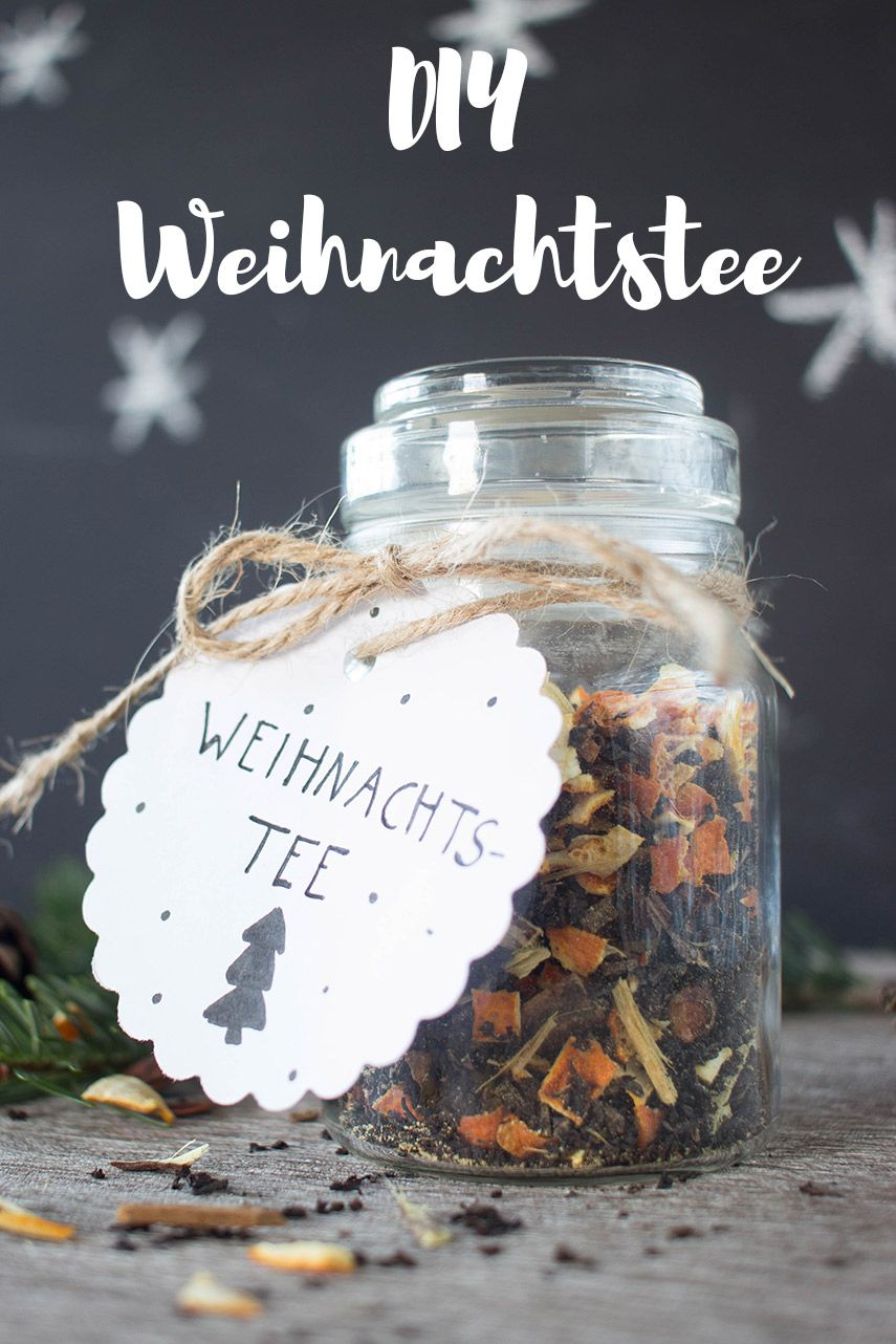 6 diy weihnachtstee weihnachtstee verschenken und. Black Bedroom Furniture Sets. Home Design Ideas