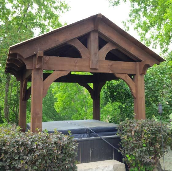 Timber Outdoor Living: Heavy Timber Pergola