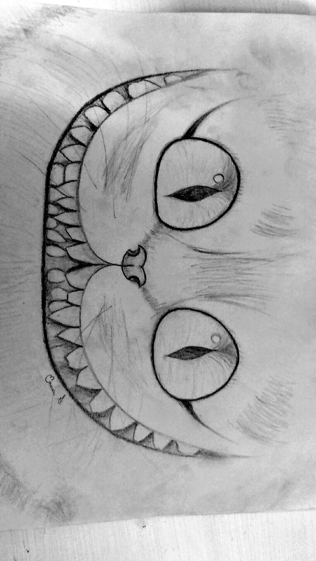 The Cheshire Cat Drawing | just sketches | Arte, dibujo ...