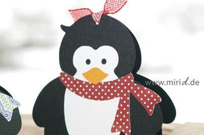 www.miriD.de: Geschenkschachtel Pinguin | Penguin gift box
