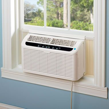 The Quiet Window Air Conditioner Hammacher Schlemmer 6000 Btu For