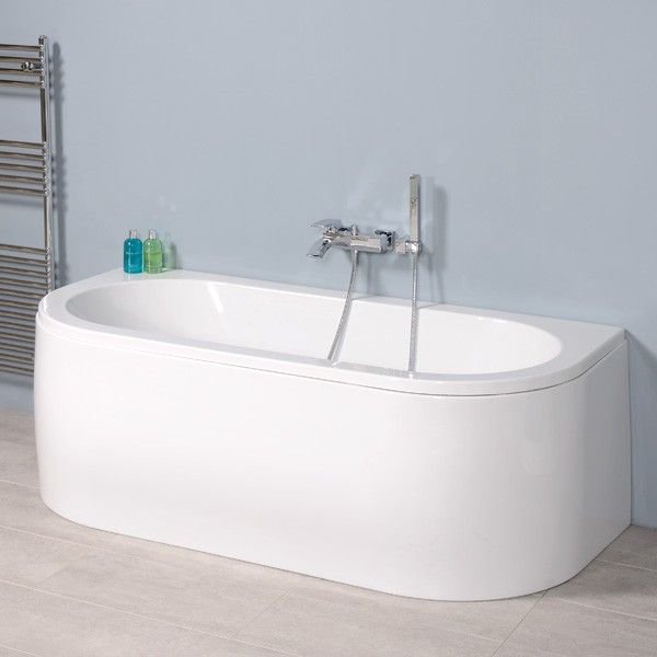259.00 1700 Bologna Luxury Double Ended Bath | number 5 | Pinterest ...