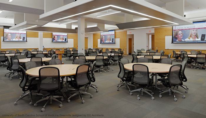 Classroom Design And Learning : Active learning classroom with chadwick task chairs