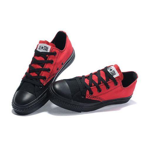 Nueva Converse All Star Negro y rojo
